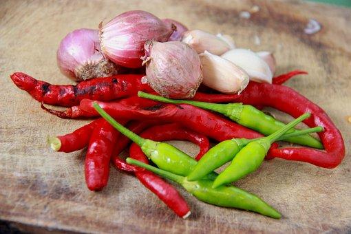 Condiment, Onion Chilli, Raw Sauce, Chili Pictures, Hot