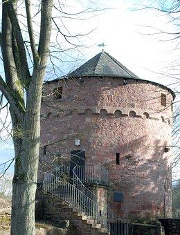 Castle, Ruin, Middle Ages, Stone, Building