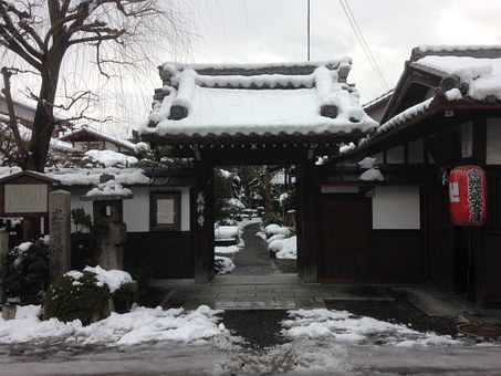 Yoshinaka Temple, Temple, Basho