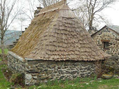 Thatch, Village, Gallic