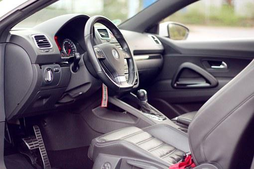 Auto, Vehicle, Interior, Vw, Volkswagen, Scirocco, Pkw