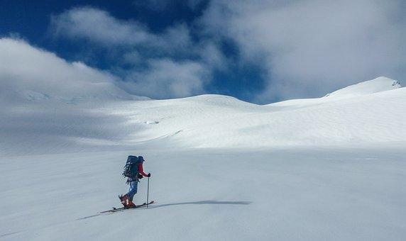 Skiing, Skier, Ski, Snow, Winter, Mountain, Cold