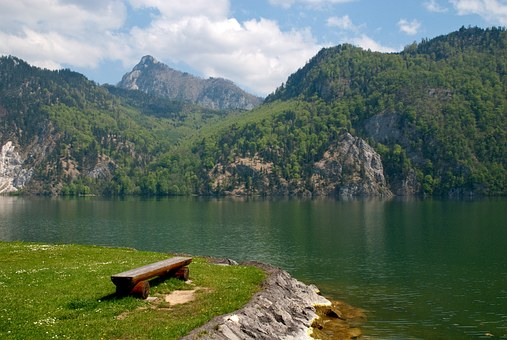 Traunsee, Lake, Austria, Water, Mountains, Holiday