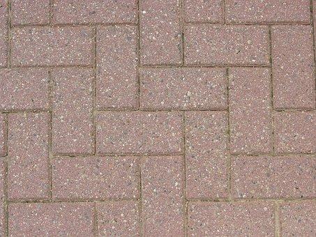 Bricks, Patio, Red, Paving, Pattern, Exterior, Brick
