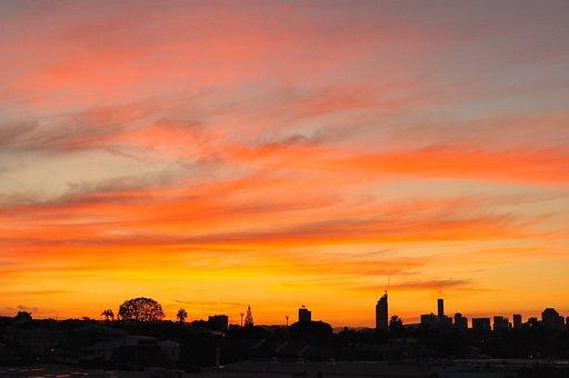 Sunset, Coorparoo, Brisbane