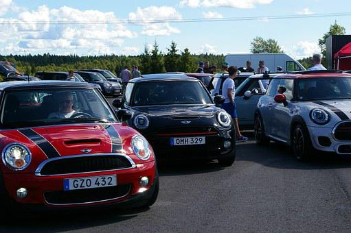 Minicooper, Cars, Meeting, Affinity, Colorful