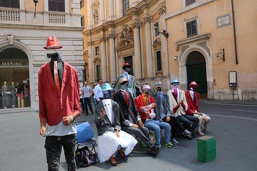 Human, Italy, Rome, Street, Enjoyable, Entertainment