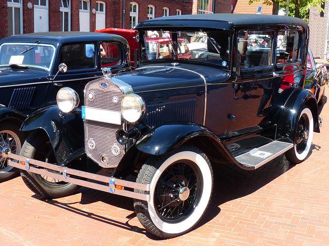 Ford Model A Tudor Esdan, Ford, Oldtimer, Automotive
