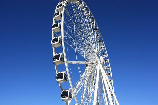 Ferris, Wheel, Brisbane, Fun, Carousel, Festival