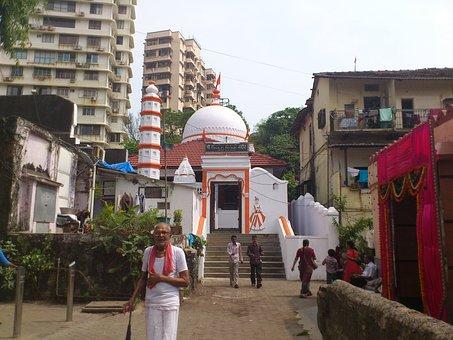 India, Mumbai, Bombay, City, Religion, Temple, Alley