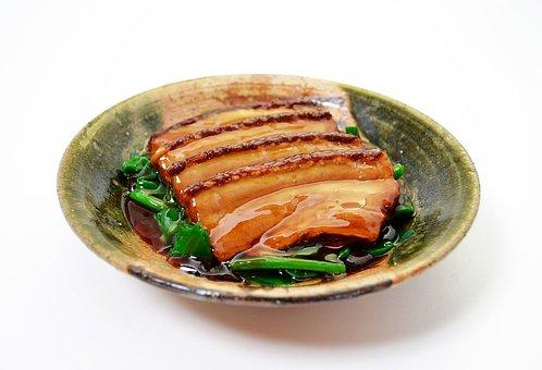 Dong Po Rou, Chinese Food, Dish, Pork, Kakuni, Meat