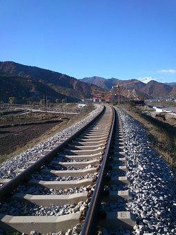 Road, Distance, Corner, Dream, Train, Train Track