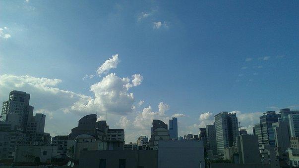 Seocho-dong, Sky, Building