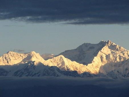 Mountain, Nature, Landscape, Picture, Clouds, Snow