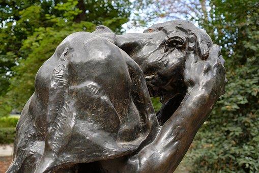 Sculpture, Torment, Rodin, Paris