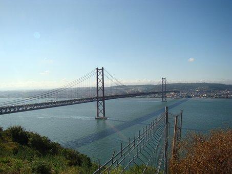 25th Of April Bridge, Portugal, Lisbon