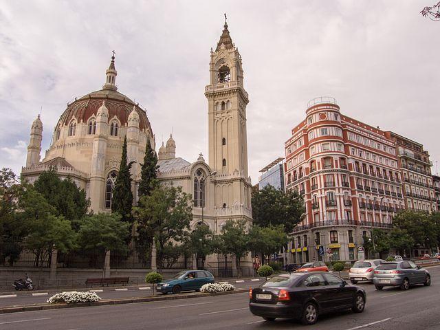 Madrid, Church, Neo Classical, Architecture