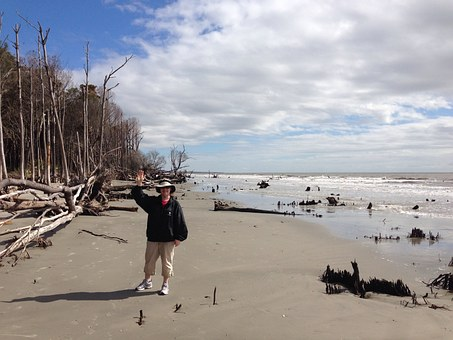 Capers Island, Charleston, Beach, Island