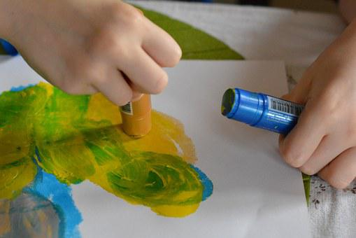 Painting, Colored, Paint, Kindergarten, Color, Pin