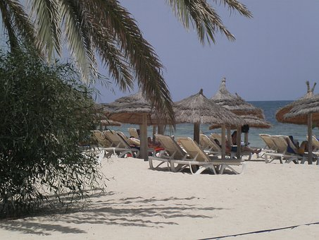 Djerba, Holiday, Beach, Sea, Holidays, Coast, Tunisia