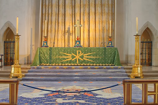Altar, Guildford, Cathedral, Surrey, Church, Religion