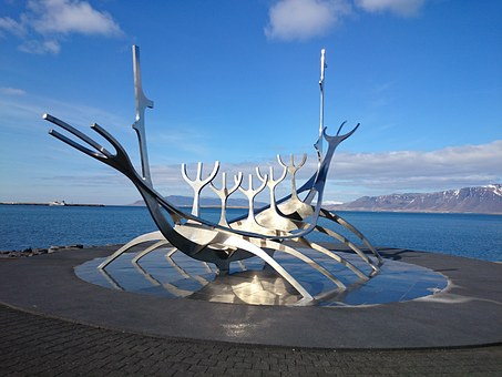 Reykjavik, Iceland, Sólfar, Sun Voyager, Landmark