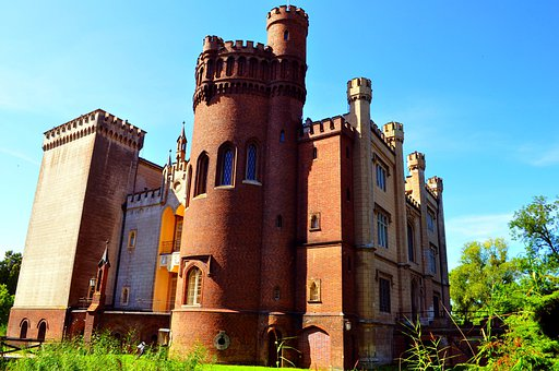 Kórnik Castle, Castle, Tower, The Stones, Building, Old