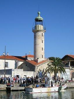 Lighthouse, Camargue, Grau Du Roi