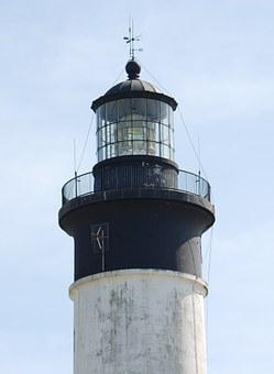 Lighthouse, Oléron, Chassiron, Ocean, Navigation