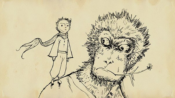Monkey, The Little Prince, Chinese New Year, Sun Wukong