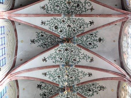 Church, Dakgewelf, Symmetry