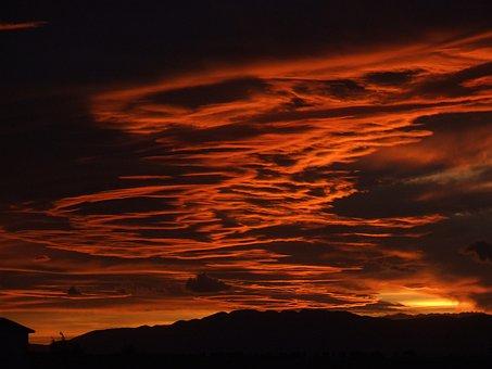 Riumar, Sky, Spain, Tarragona