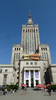 Warsaw, Palace Of Culture And Science