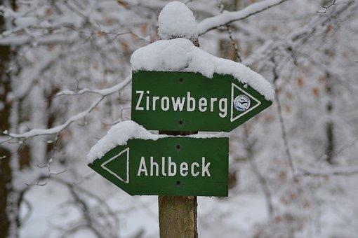 Zirowberg, Ahlbeck, Winter, Directory