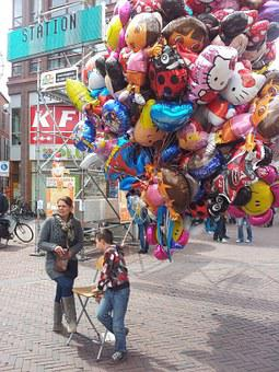 Balloons, Queen's Day, Arnhem