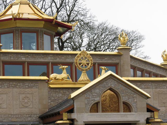 Dharma Wheel, Buddha, Dharma, Wheel, Temple, Buddhist