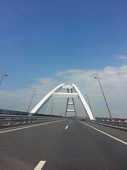 Bridge, Danube, Pentele Bridge