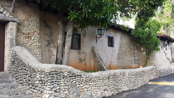 Old, Roman, Country House, Tourism, Dominican Republic