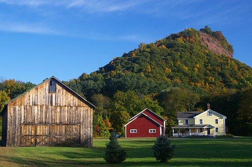 Sugarloaf, Landscape, Sugarloaf Mountain, Fall Foliage