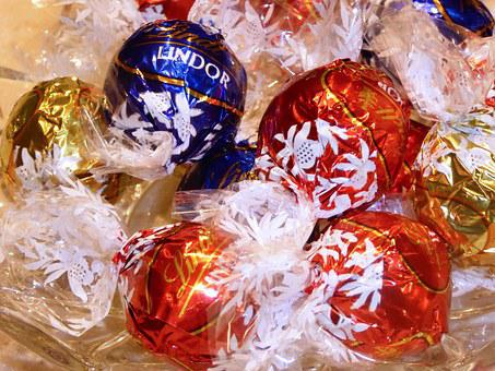 Chocolate, Lindor, Sweet, Sugar, Food