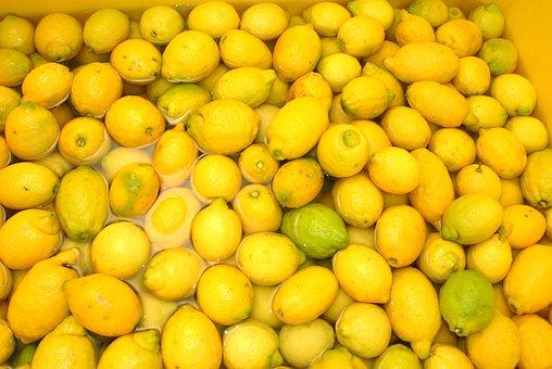 Lemons, Sorrento, Italy, Limoncello, Passion, Fruit
