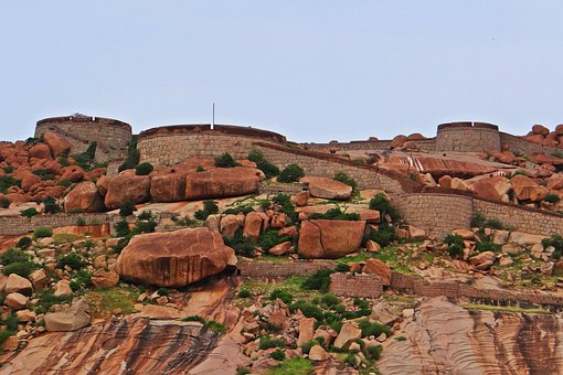 Bellary, Fort, Historic, Building, Historic Buildings