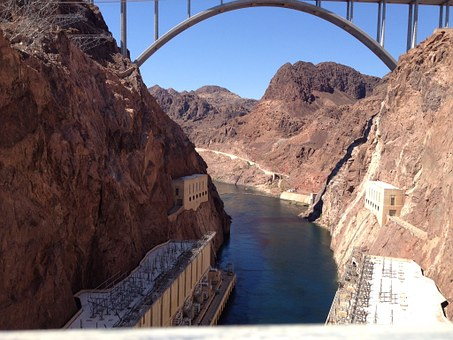 Hoover Damn, River, Bridge