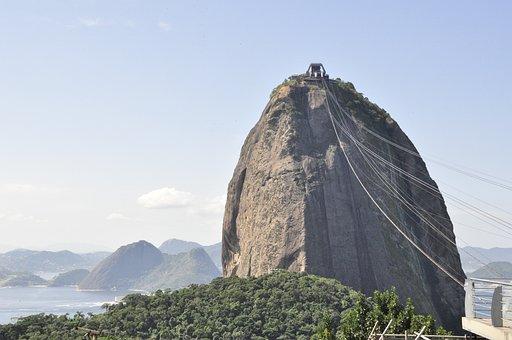 Brasil, City, Landscape, Rio De Janeiro, Brazil