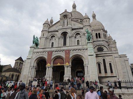 Sacre Couer, Paris, Church, Landmark