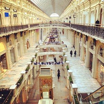 Europe, Russia, Shop, Luxury, Decoration, Building