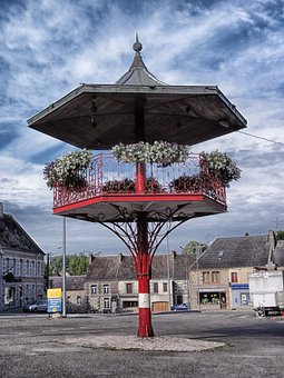 Trelon, France, Village, Town, Buildings, Architecture