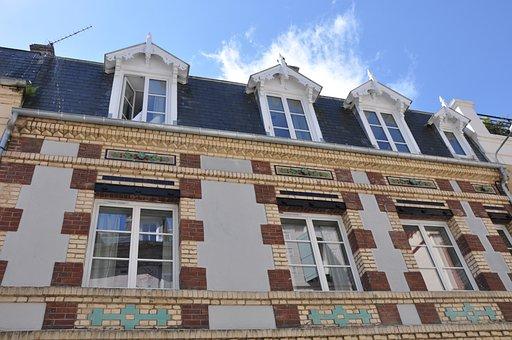Hotel, Deco, Normandy, Trouville