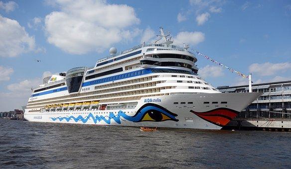 Aidastella, Ship, Passenger, Port, Hamburg, Vessel