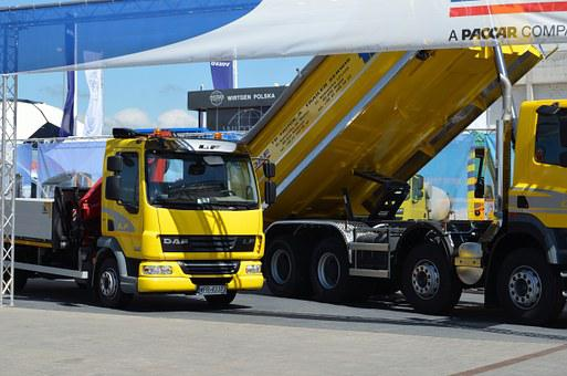 Equipment, Construction, Heavy, Tipper, Work, Works
